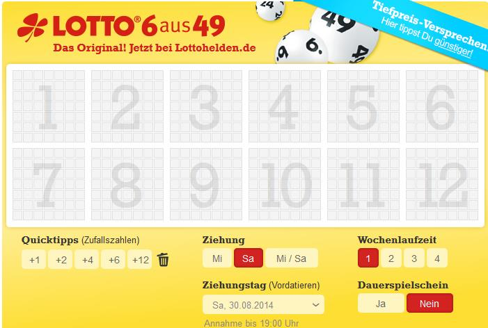 spielen online lotto internet