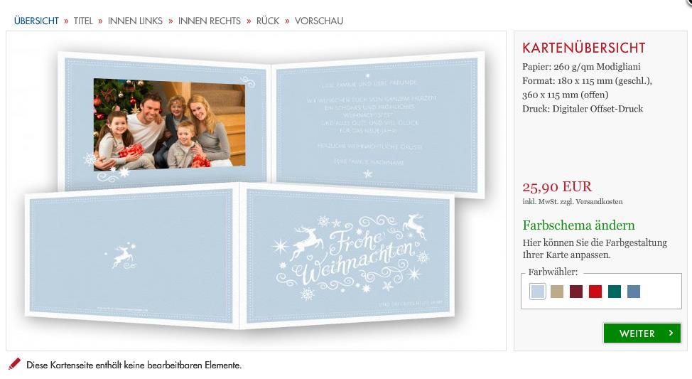 weihnachtskarten online selbst gestalten mit foto. Black Bedroom Furniture Sets. Home Design Ideas