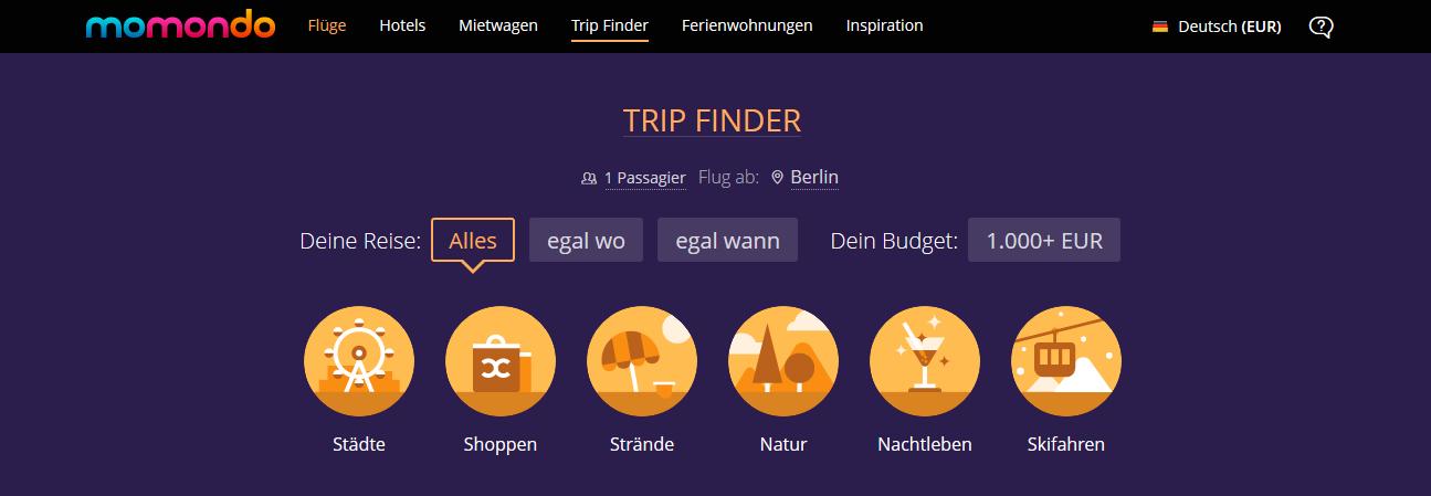 momondo-trip-finder