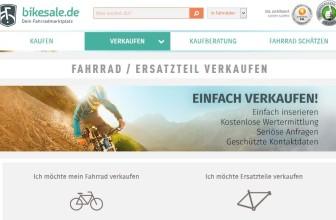 Gebrauchtes Fahrrad verkaufen auf Bikesale.de