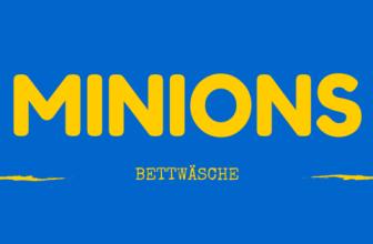 Minions Bettwäsche – 4 beliebte Motive