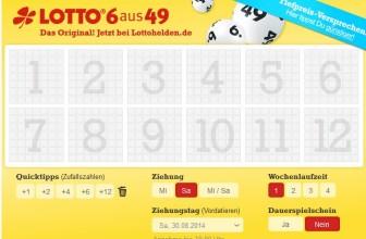 Online Lotto spielen mit Lottohelden.de