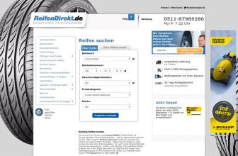 Reifendirekt.de: Onlinekauf mit Rundumservice