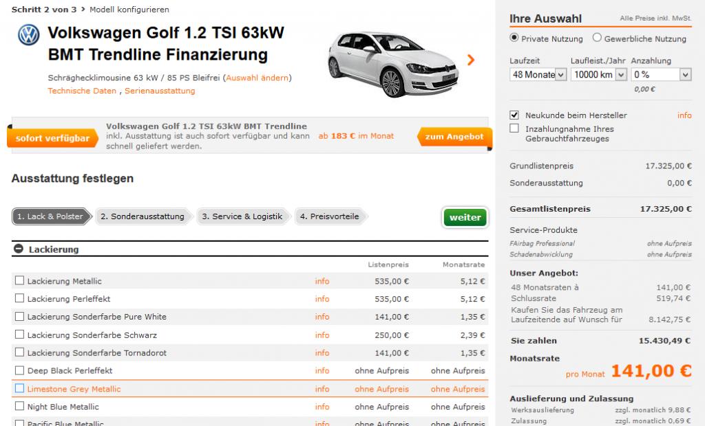 sixt-neuwagen-modell-konfigurieren