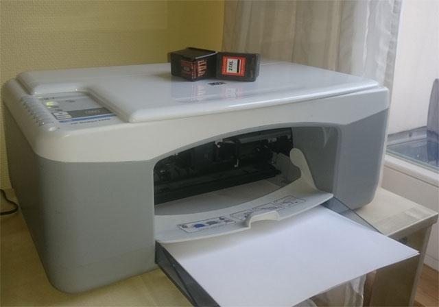 Tonerpartner Einbau Drucker