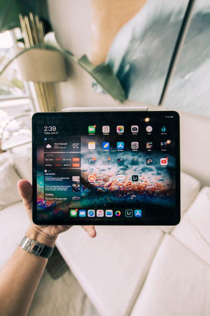 Apple Tablet einrichten