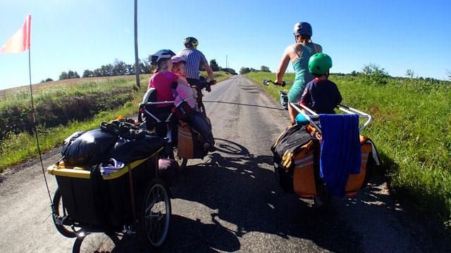 Radtouren Sommer Familien