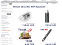 E-Zigaretten Shop Steamo im Test