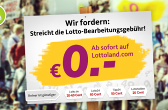 Lotto Bearbeitungsgebühr abschaffen