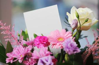 Blumengrüße online verschicken