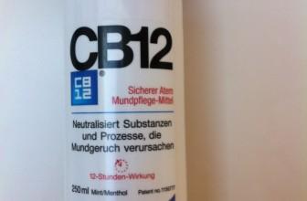CB12 Mundpflege-Mittel Test